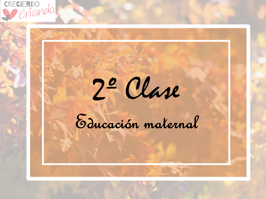 2º clase ed maternal
